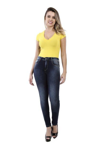Calça Jeans Feminina Skinny Compressora - 260021