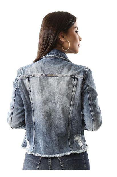 Jaqueta Jeans Feminina - 260162