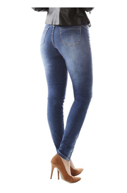 Calça Jeans Feminina Skinny Compressora - 259026