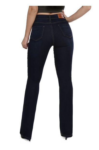 Calça Jeans Feminina Flare Boot Cut - 261128