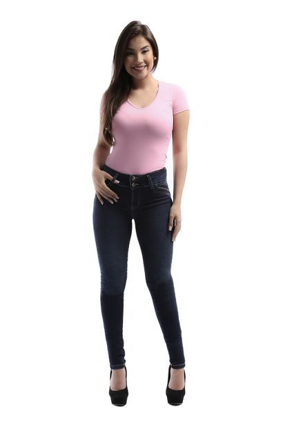 Calça Jeans Feminina Legging Modela Bumbum - 261050