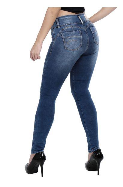 Calça Jeans Feminina Legging Modela Bumbum - 260458