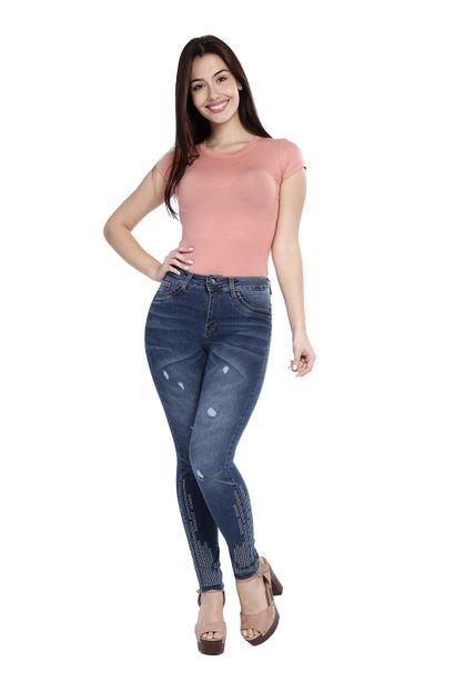 Calça Jeans Feminina Cigarrete - 260157