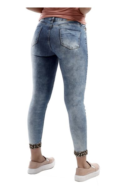 Calça Jeans Feminina Cigarrete Push Up - 260977