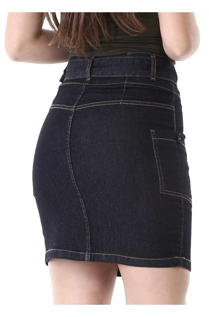 Saia Jeans Feminina - 261339