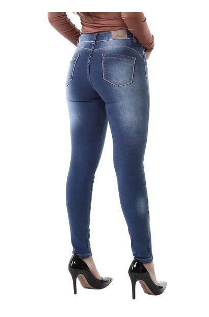 Calça Jeans Feminina Skinny Compressora - 261163