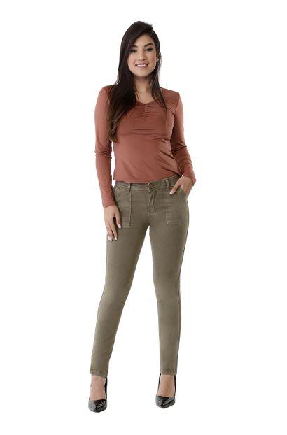 Calça Jeans Feminina Cigarrete - 261514