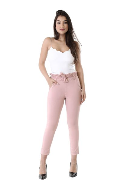 Calça Bengaline Clochard Rose - 261271