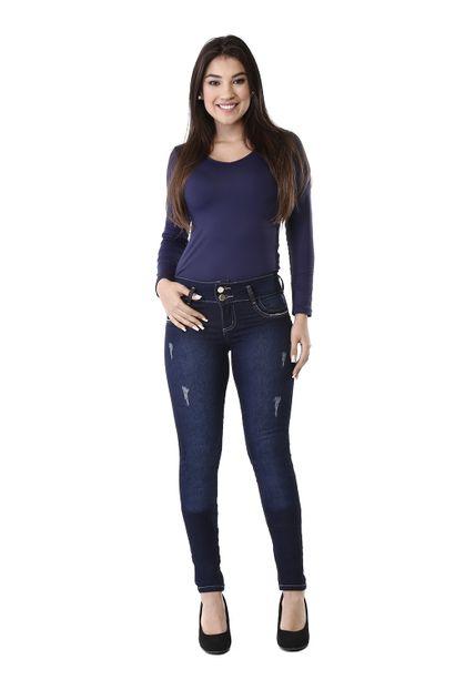 Calça Jeans Feminina Legging Modela Bumbum - 260465