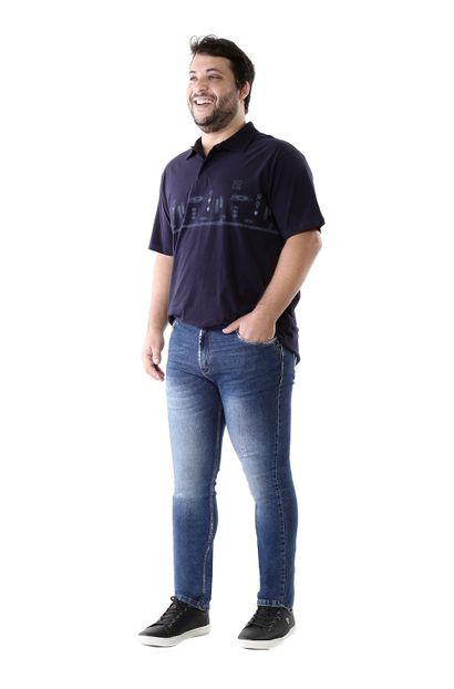 Calça Jeans Masculina Skinny Plus Size - 260692