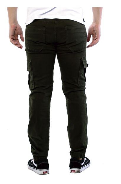 Calça Jeans Masculina Jogging Verde - 261324