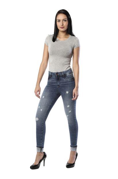 Calça Jeans Feminina Cigarrete - 260297