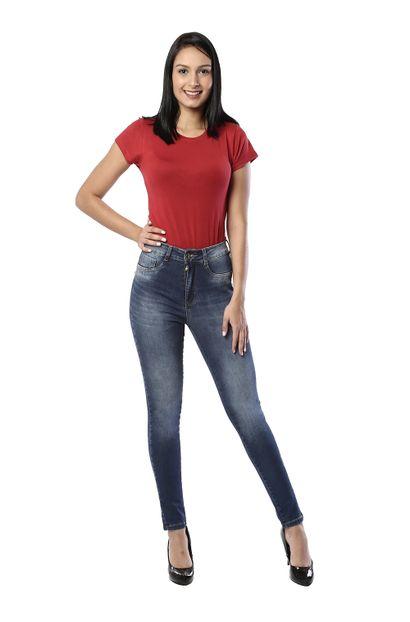 Calça Jeans Feminina Legging Super Lipo - 261234