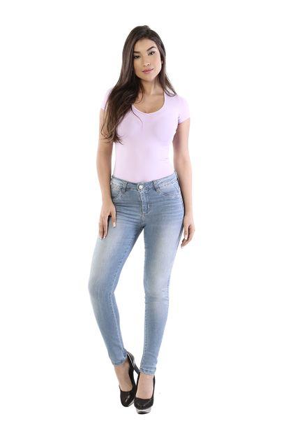 Calça Jeans Feminina Cigarrete Push Up - 261378