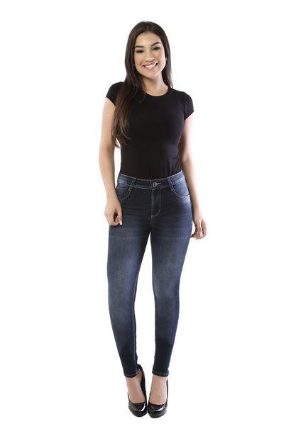 Calça Jeans Feminina Skinny Levanta Bumbum - 261027