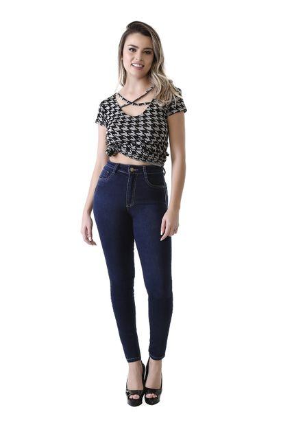 Calça Jeans Feminina Cigarrete Sculp - 261579