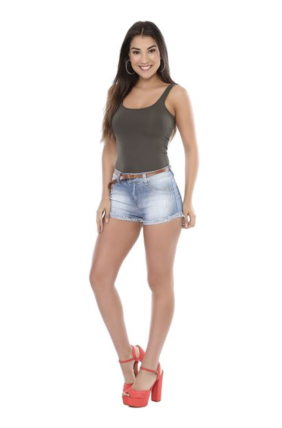 Shorts Jeans Feminino Boyfriend - 261204