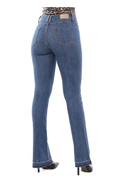 Calça Jeans Feminina Flare Boot Cut - 262048