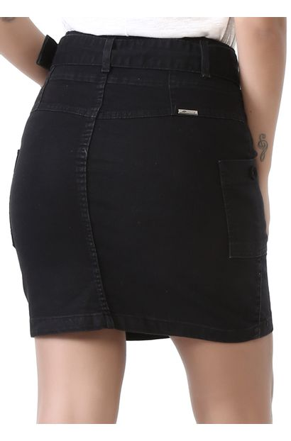 Saia Jeans Feminina - 261663
