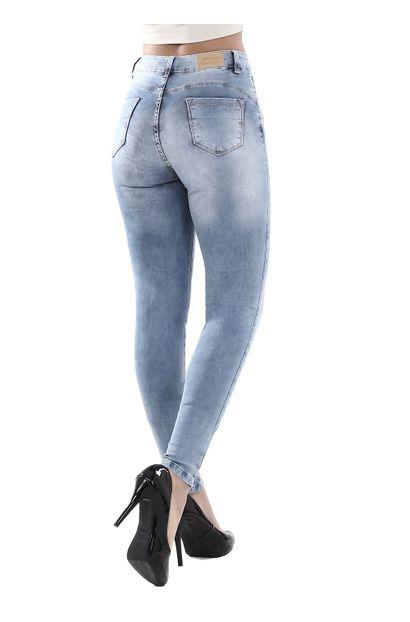 Calça Jeans Feminina Skinny Compressora - 262122