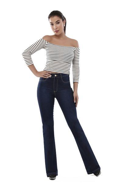 Calça Jeans Feminina Flare Super Lipo - 261505