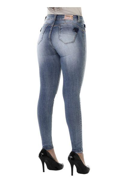 Calça Jeans Feminina Cigarrete - 260846