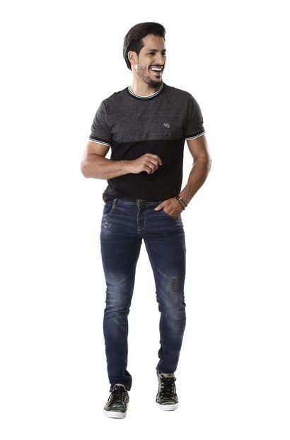 Calça Jeans Masculina Skinny - 261540