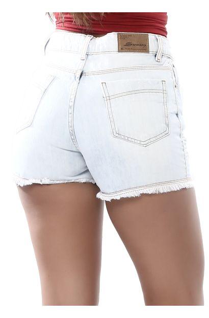 Shorts Jeans Feminino Boyfriend - 261871