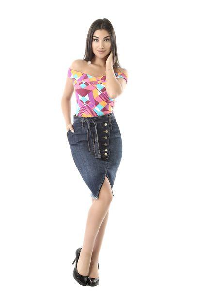 saia-jeans-feminina-midi