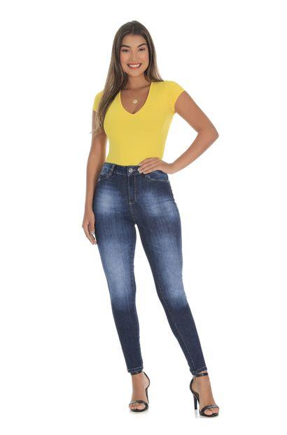 Calça jeans feminina cigarrete - 266688